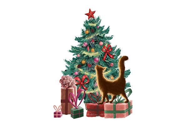 精美的34個聖誕卡片設計欣賞