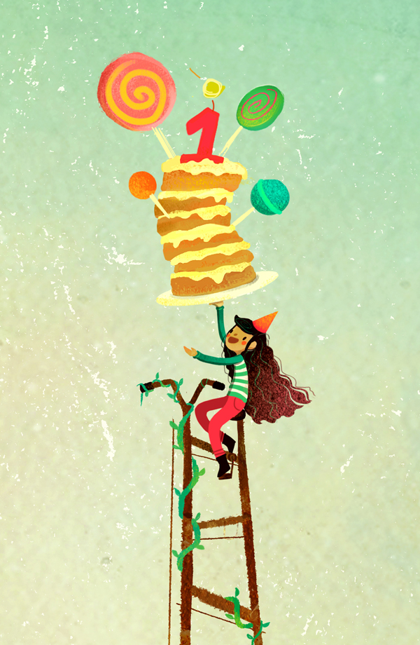 Dinosaur girl friend Birthday cake One Year Old cute Candy Bike tall bike tall short Buddy joyce fan