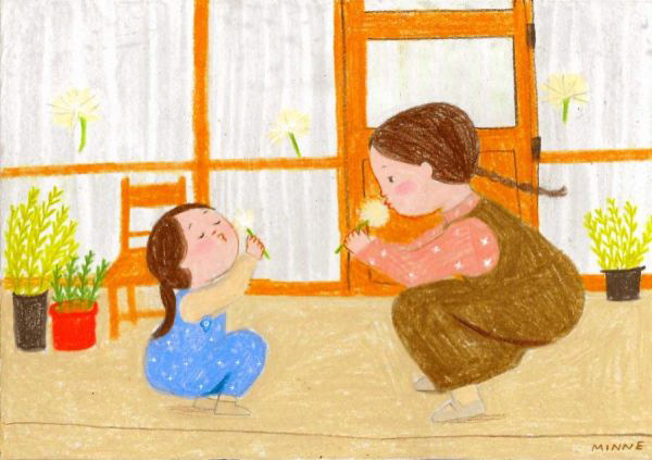 精美的45款韓國插畫欣賞