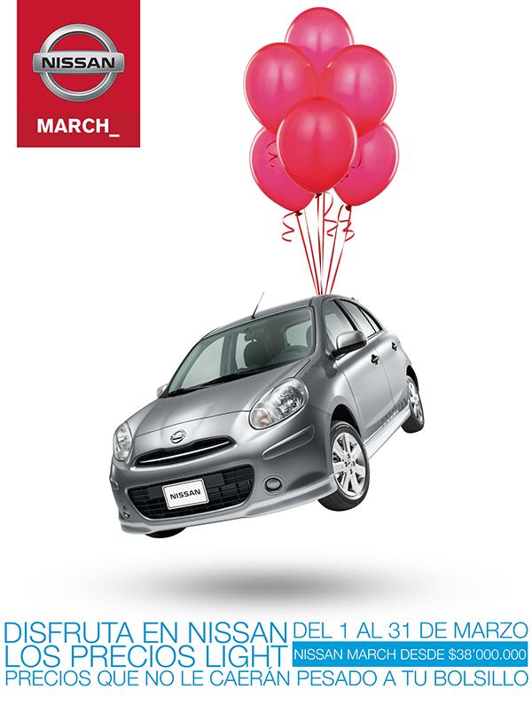 Nissan Nissan March precios light