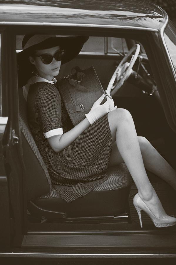 photograph retouch 60's color model beauty hair editorial art cinematographic shoe