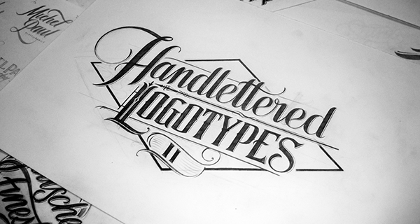 Handlettered Logotypes II On Behance