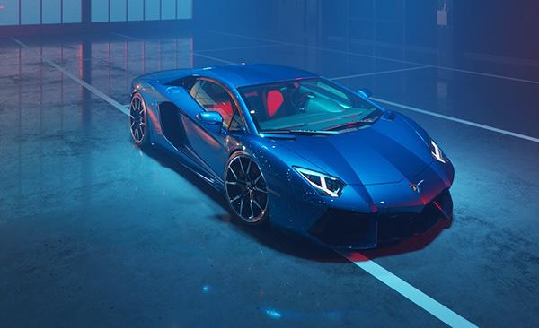 Aventador - Dione Forged   CGI