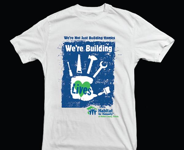 Habitat For Humanity T Shirt Design On Behance