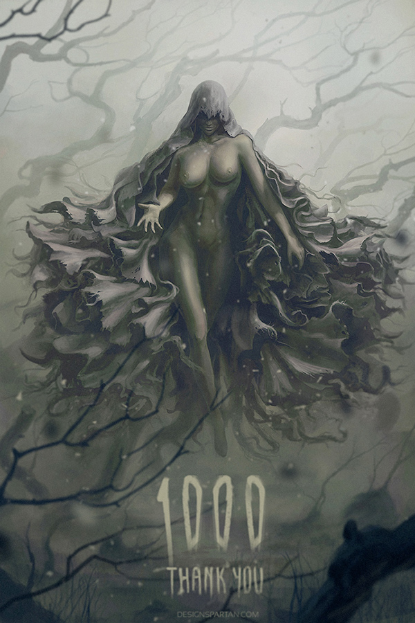 digital painting,concept art,character art,Character,dark,dark witch,witch,speed painting,time-lapse,video,psd,free psd