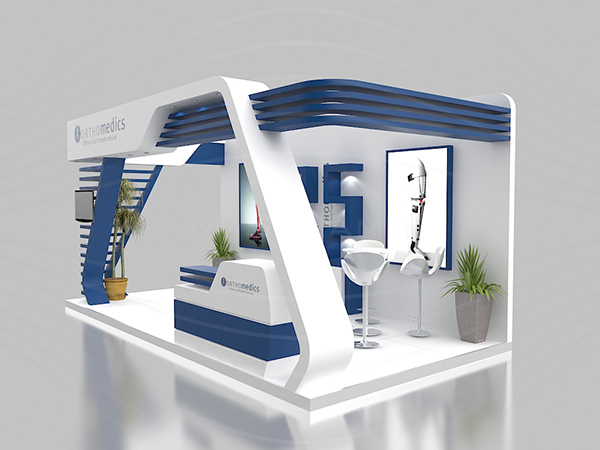 Exhibition Stand Fascia : Orthomedics booth on behance