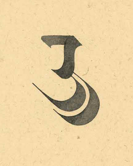 Letterform In Devnagari Script Dip Tool On Paper