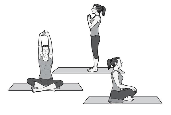 Yoga Instructional Illustrations On Behance