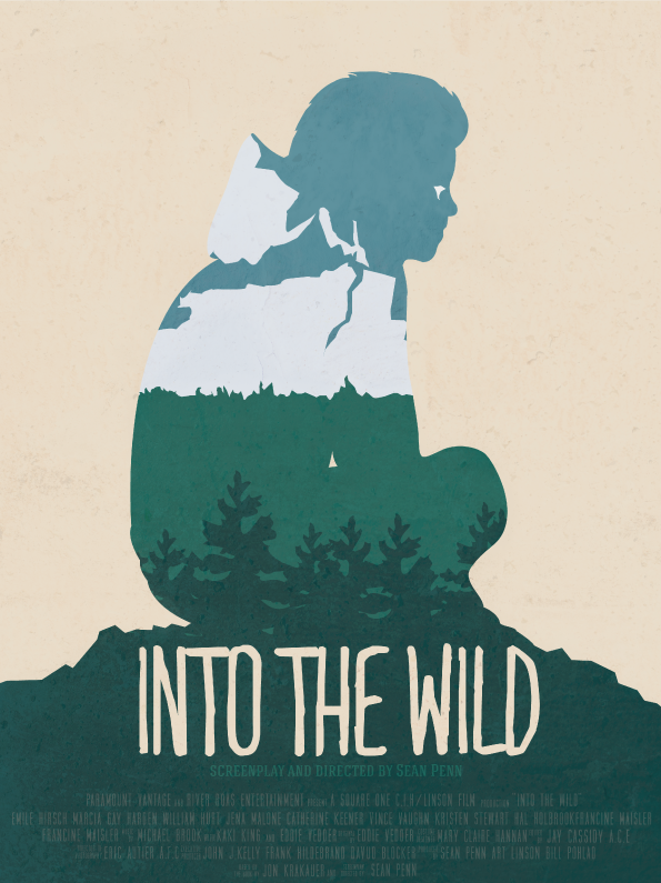 Into the wild - movie poster on Behance
