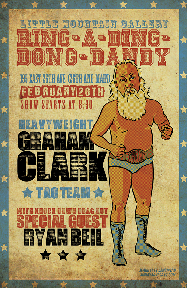 poster comedy  Wrestling beards texture