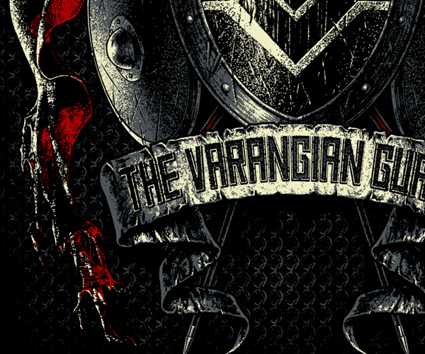 The Varangian Guard - Merch Design on Pantone Canvas Gallery