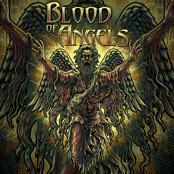 Bloody angel design for Blood of Angels