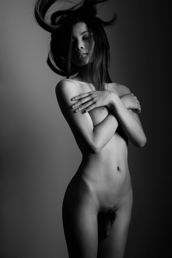 M2F Male To Female  Nude Transgender Models On Behance-9259
