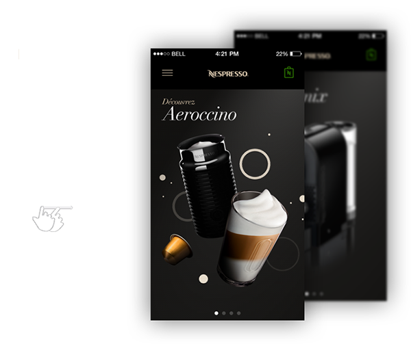 Nespresso,ios7,iphone