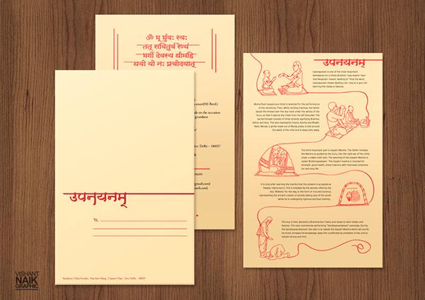 Invite Design - Upanayanam on Behance