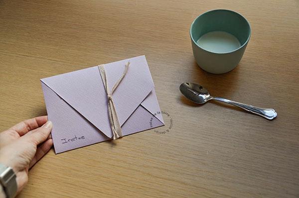 精細的15個邀請卡信封欣賞