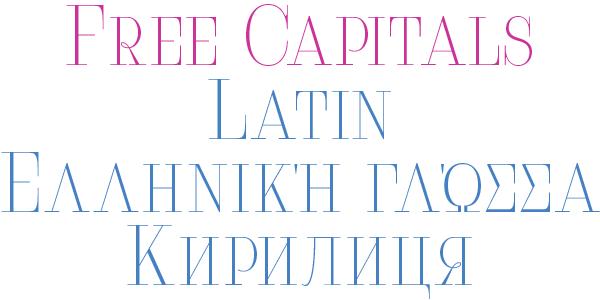 free font Cyrillic bodoni didoni