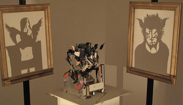 Shadow Art  Trash Art light shadow