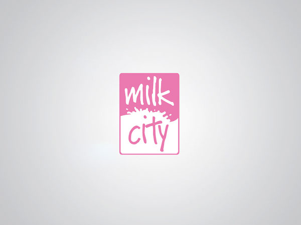 Milk Logo Design Milk City Logo Design