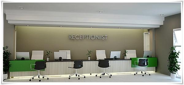 Borromeus Hospital ReceptionistHospital Receptionist