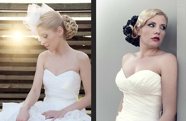 Hairstylist black White classy gold feathers wedding Invitation seminar diploma Greece Lamia
