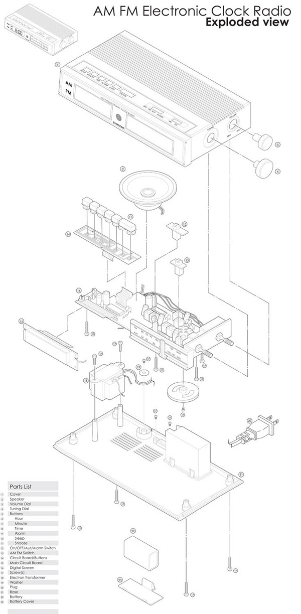 schematic diagram of am fm radio best place to find wiring and 78 Corvette Power Antenna Wiring Diagram exploded view