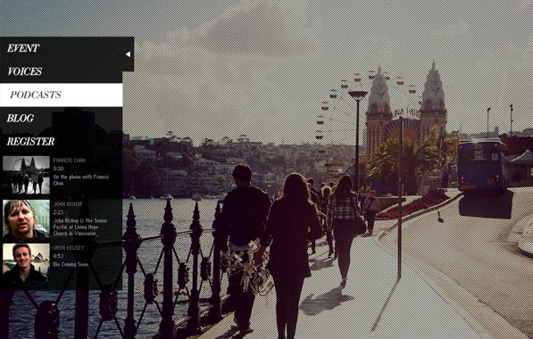 Website Flash Web development modern clean fullscreen