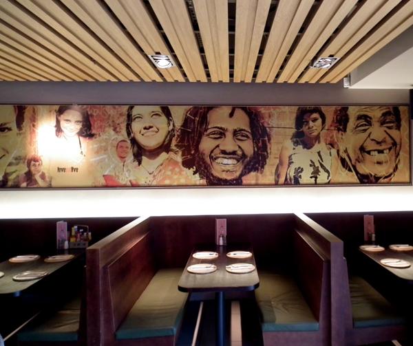 Restaurant mural on behance for Mural restaurant