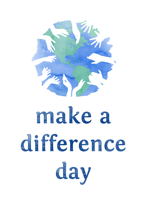 Make A Difference Day On Behance