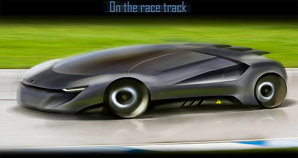 Lamborghini Concept On Behance