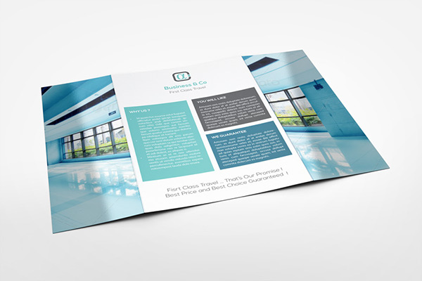 A Gatefold Brochure Mockup On Behance