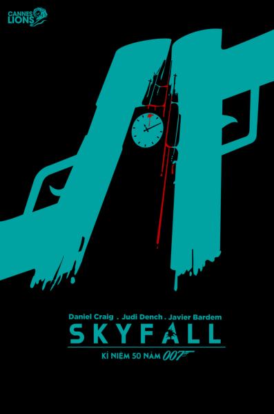 Minimalist Classroom Login ~ Skyfall minimalist poster series on student show