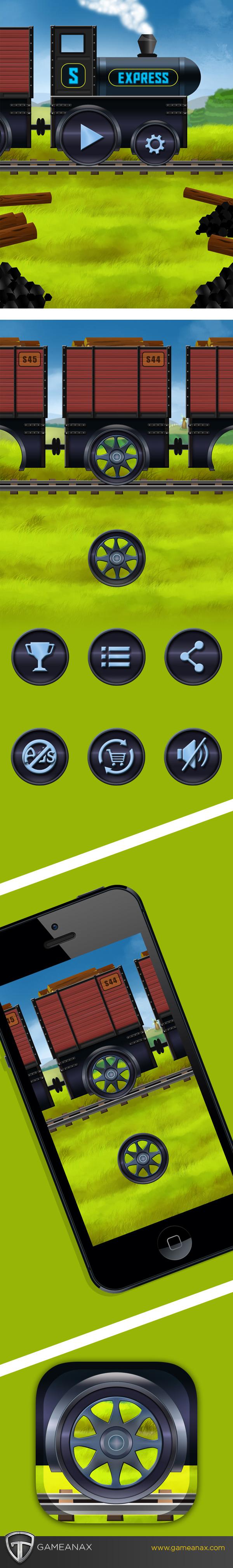 mobile gaming Gaming Games iphone ipads UI ux