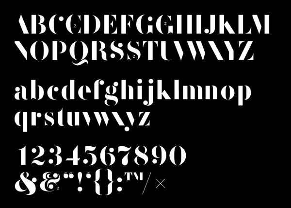 F37 Bella Stencil Regular Free Font