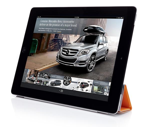 Mercedes benz glk accessories ibook on behance for Mercedes benz glk350 accessories