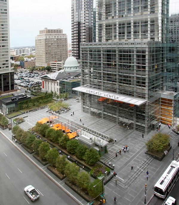 Comcast Center Plaza On The National Design Awards Gallery