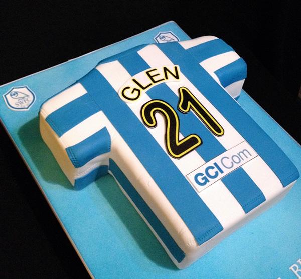 Sheffield Wednesday Birthday Cake