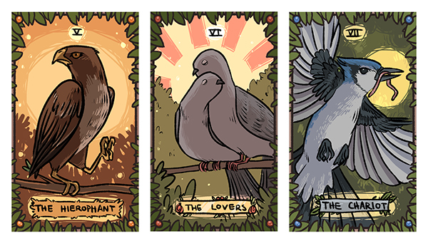 Forest Tarot Deck on RISD Portfolios