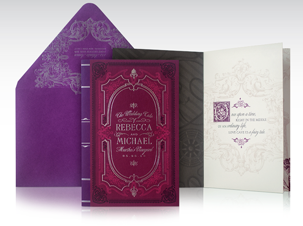 Marthau0027s Vineyard Fairytale Wedding Invitation On Behance