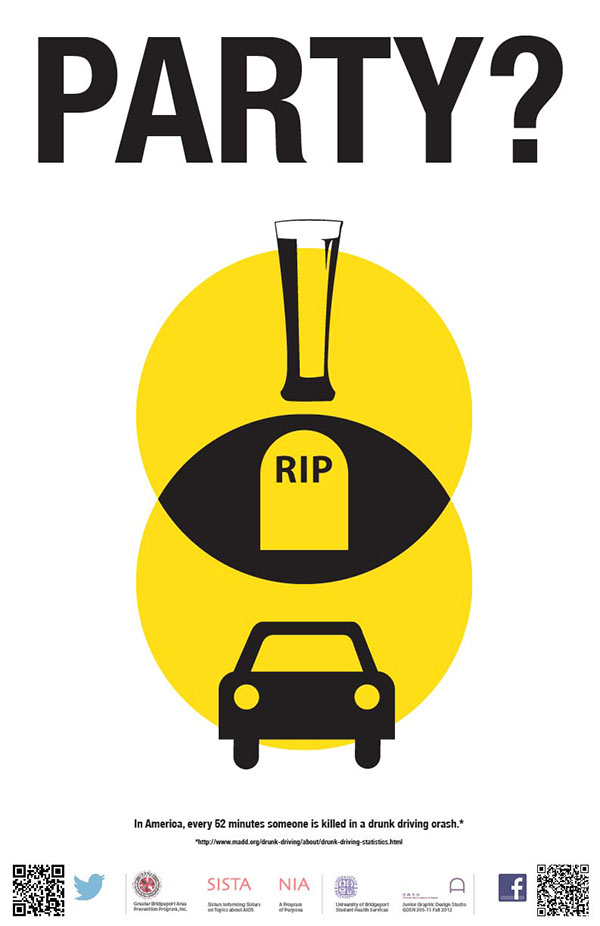 Behance amp; On Drinking Driving Poster
