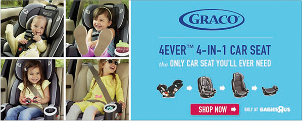 Graco All-In-One Car Seat on Behance