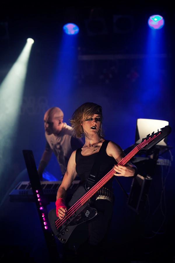 concert concert photography death Deus ex Vagina Substage Karlsruhe band death metal