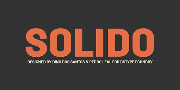 Mechanic  sans  typeface  solido  DSType Dino dos Santos Pedro Leal