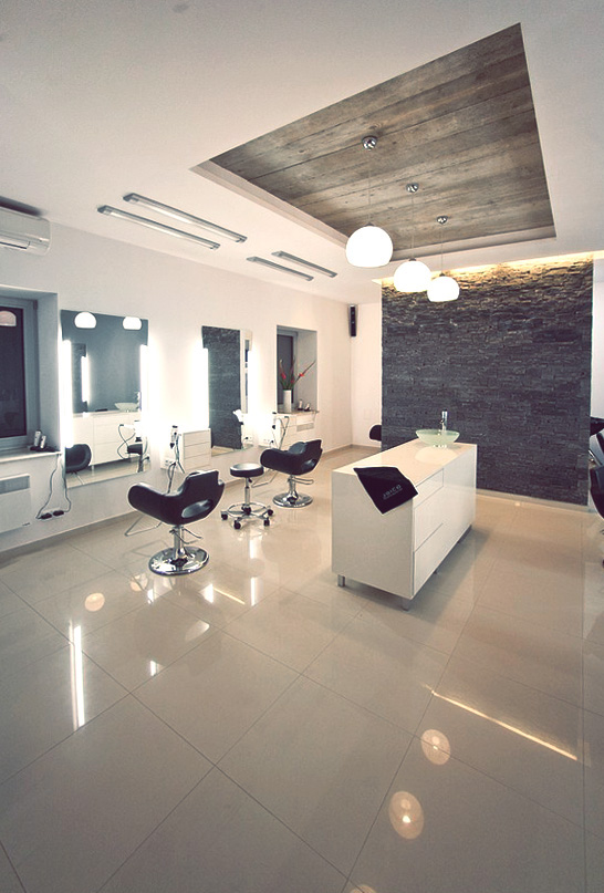 Pater hair salon on behance for Abc beauty salon