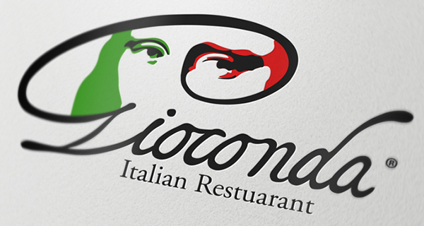 Italian Restaurant Names: Gioconda Italian Restaurant Logo On Behance