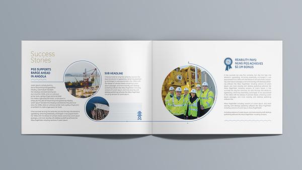 GE Power & Water - Yearbook Design on Pantone Canvas Gallery