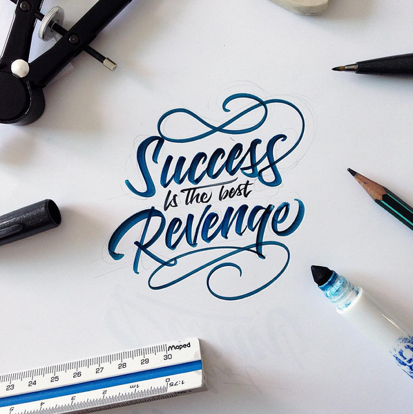Crayola Brushpen Lettering Set 3 On Behance