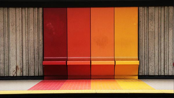 Le Metro de Montréal on Behance
