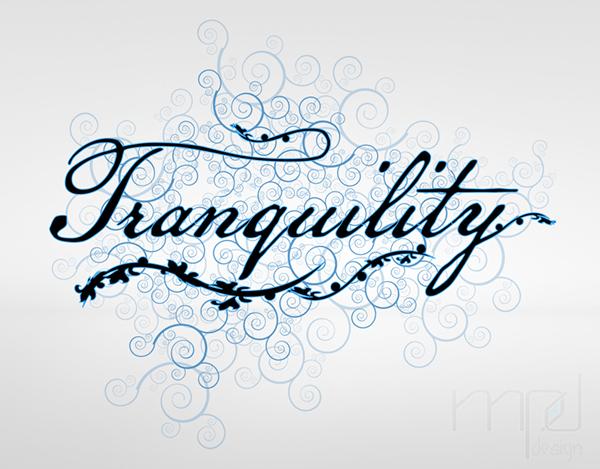 Logotipo tranquility