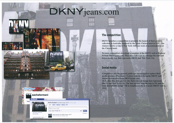 DKNYjeans com competition  on Behance